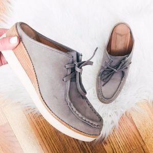 Derek Lam 10 Crosby Gray Slip On Sneakers 8
